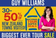 Image for event: Guy Williams' Biggest Ever Tour