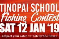 Image for event: Tinopai Fishing Contest '19