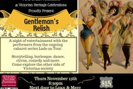 Image for event: Gentleman's Relish
