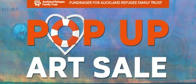 Art for Change Pop Up Fundraising Sale for ARFT