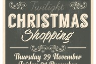 Image for event: Twilight Christmas Shopping