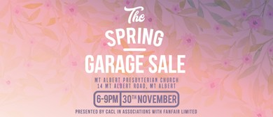 CACL - Community Church Spring Garage Sale