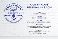 Image for event: Craft Beer and Seafood Festival 2018