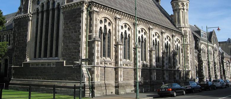 Christchurch Arts Centre Armistice Day Commemoration