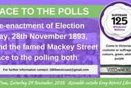 Image for event: Race to the Polls