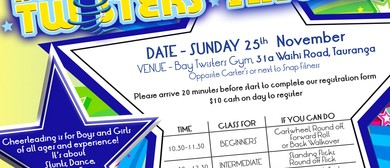 Bay Twisters Tryouts