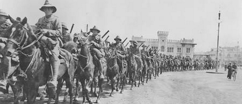 Forgotten Warriors in Egypt and the Holy Land - (1916-1918)