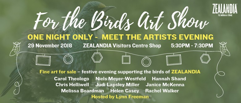 For the Birds Art Show