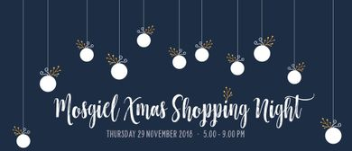 Mosgiel Xmas Shopping NIght