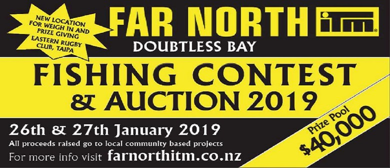 Far North ITM Doubtless Bay Fishing Contest & Auction
