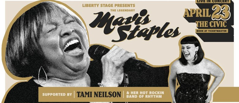 Legendary Mavis Staples Live