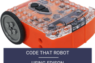 Image for event: Code That Robot Using Edison: Scratchpad Holiday Programme