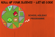 Image for event: Roll Up Your Sleeves: Let Us Code - School Holiday Programme