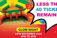 Image for event: Inflatable Kingdom 2018 - Glow Night