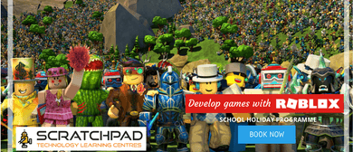Develop Games With Roblox - Scratchpad Holiday Programme