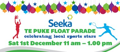 Seeka Te Puke Christmas Float Parade