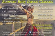 Image for event: Summer Belly Dance Classes with TribalDiva Belly Dance