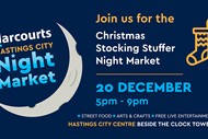 Harcourts Hastings City Christmas Stocking Stuffer Market