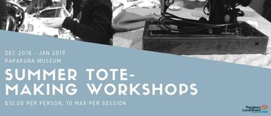Summer Tote-Making Workshops