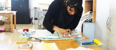 Studio One Toi Tū - Textile Block Printing