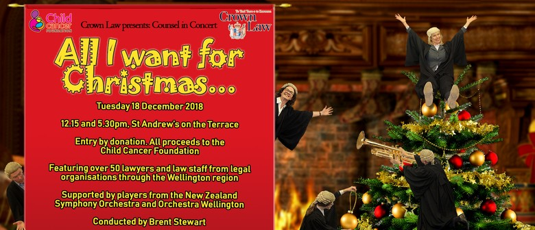 Counsel In Concert All I Want For Christmas