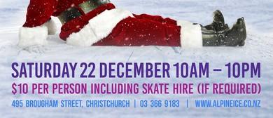 Winter Wonderland Ice Skating for Cure Kids