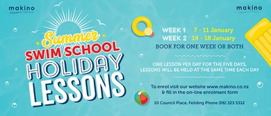 Summer Swim School Holiday Lessons - Week One