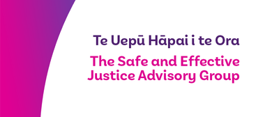 Safe and Effective Justice - Greymouth Public Conversation