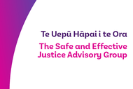 Image for event: Safe and Effective Justice - Greymouth Public Conversation