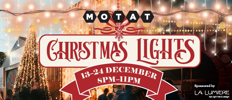 Christmas Lights at MOTAT