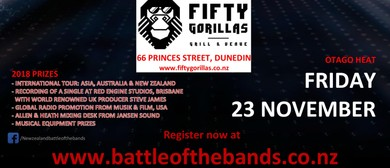 Battle of the Bands 2018 National Championship - Otago Heat