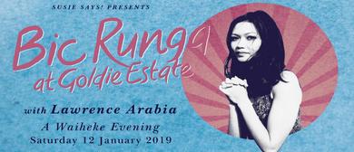 Bic Runga with Lawrence Arabia: A Waiheke Evening