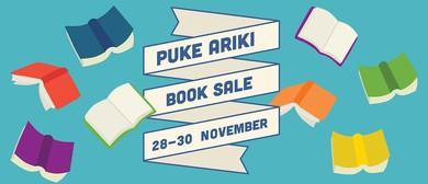 Puke Ariki Book Sale