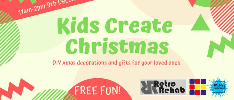 Kids Create Christmas Craft Workshop Manawatu Whanganui