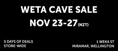 The Weta Cave Black Friday Sale