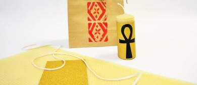 Make an Egyptian-inspired Candle