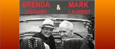 Brenda Liddiard and Mark Laurent