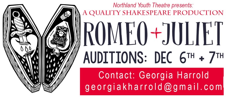 Romeo and Juliet Auditions