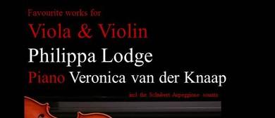 Favourite Works for Viola & Violin