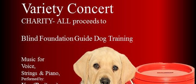 All Proceeds to Blind Found Guide Dog Training