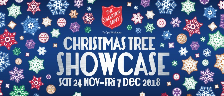 'Christmas Tree Showcase' The Salvation Army