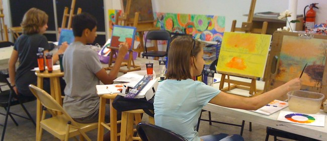 Children's Painting Workshop - 11-14 Years