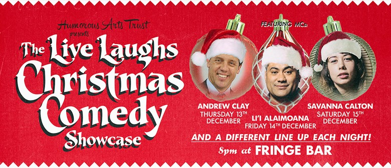 Live Laughs Christmas Comedy