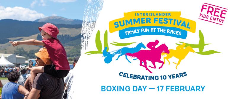 Interislander Summer Festival - Wingatui Races