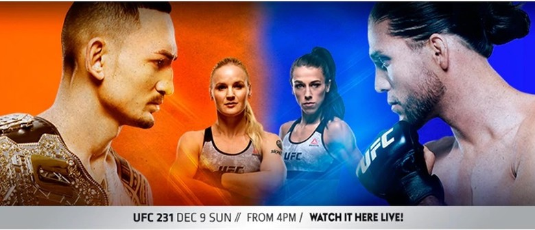 UFC231 Holloway v Ortega and Shevchenko v Joanna