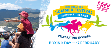 Interislander Summer Festival - Rangiora Harness Races