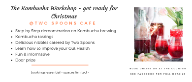Kombucha Workshop and Gut Health