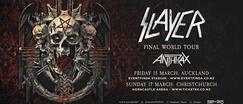 Slayer With Special Guests - Anthrax: CANCELLED