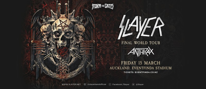 Slayer with special guests Anthrax