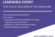 One-day Interactive Workshop for Y9 & 10 Teachers
